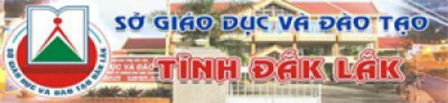Sở GD&ĐT Tỉnh Đắk Lắk